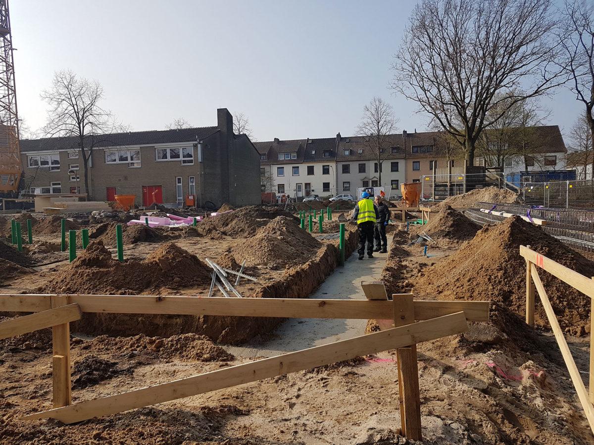 Baubeginn Neubau Grundschule Pastorenweg