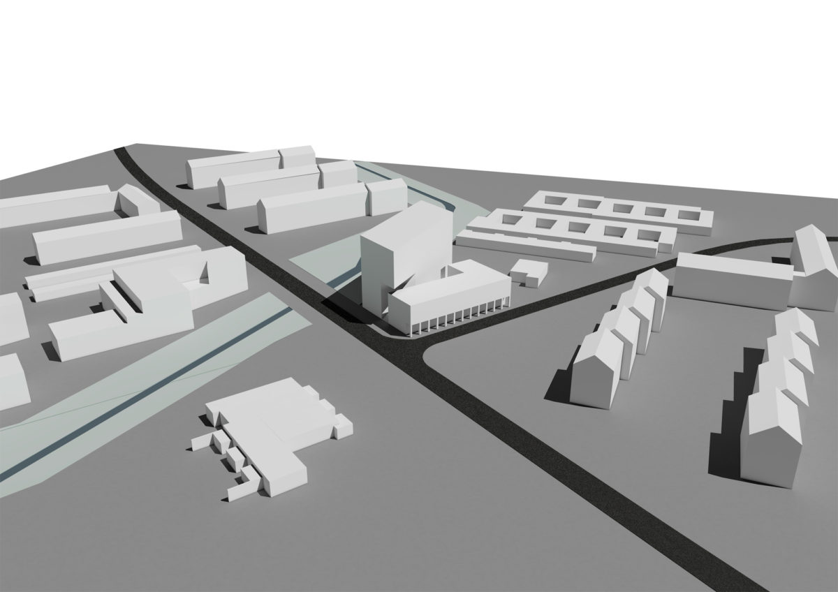 Konzept Bebauung Tessiner Strasse