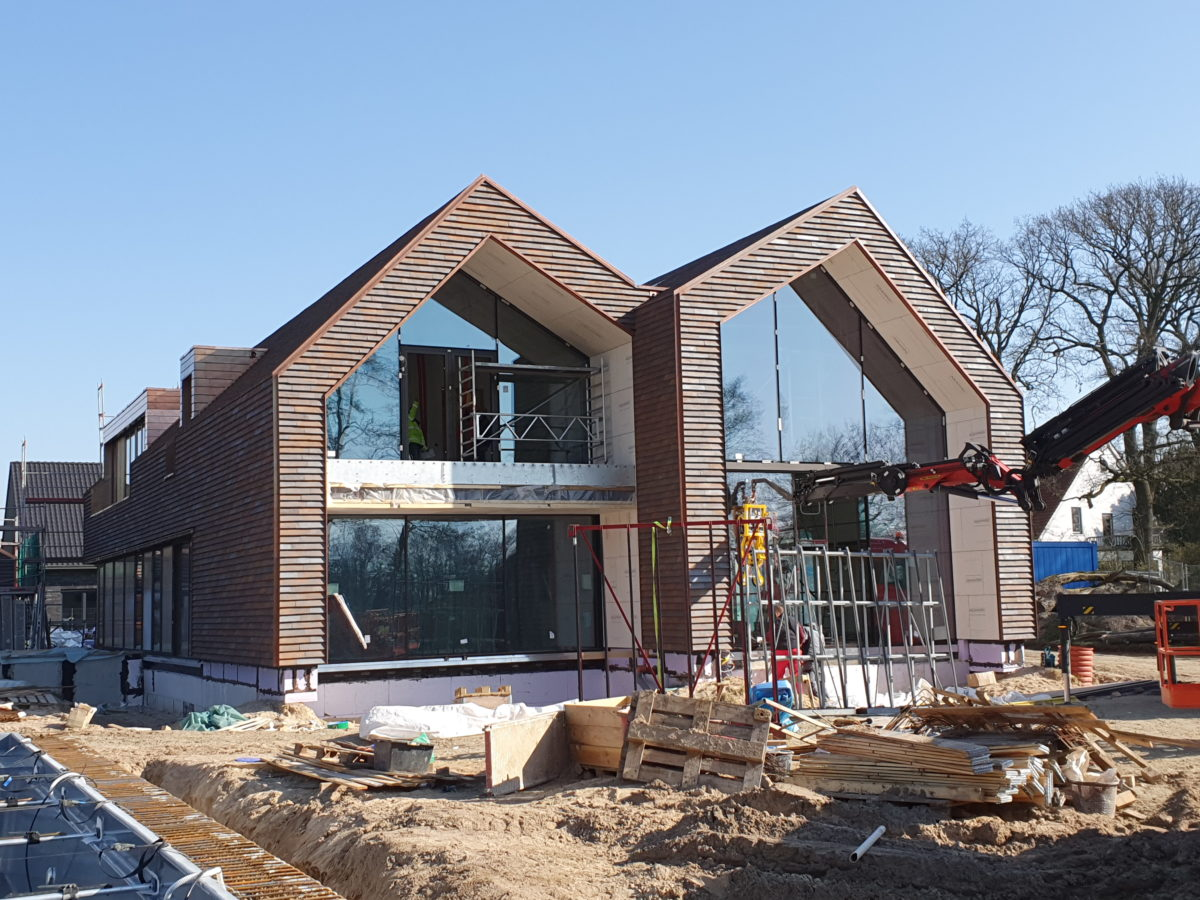 Wohnhaus Neubau