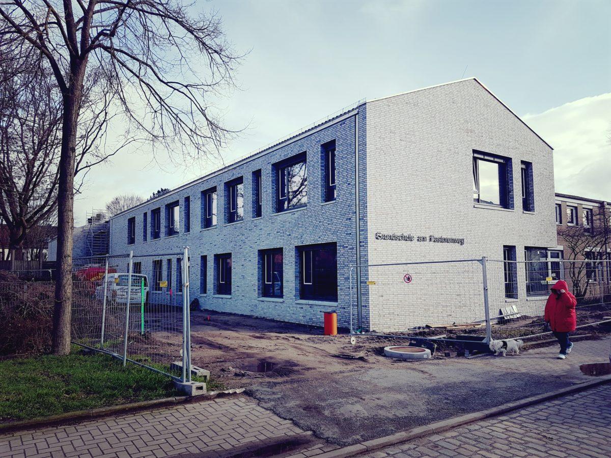 Grundschule am Pastorenweg fast fertig!
