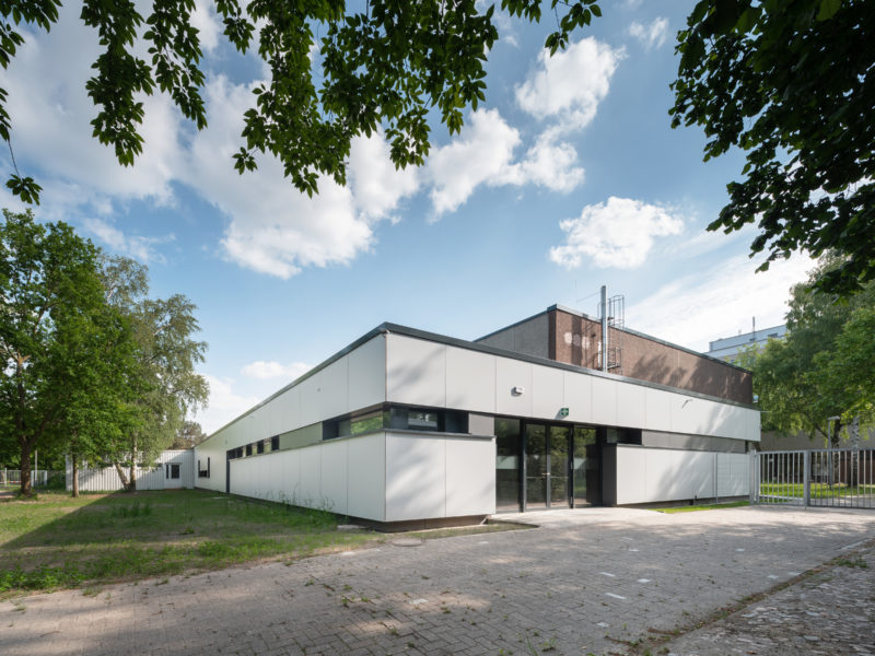 Sanierung Sporthalle Alwin-Lonke-Str., 1. Bauabschnitt fertig gestellt